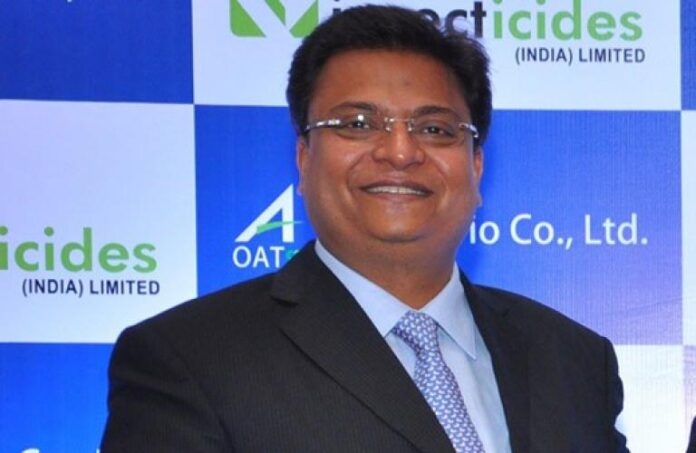 Insecticides India, Managing Director,Rajesh Aggarwal