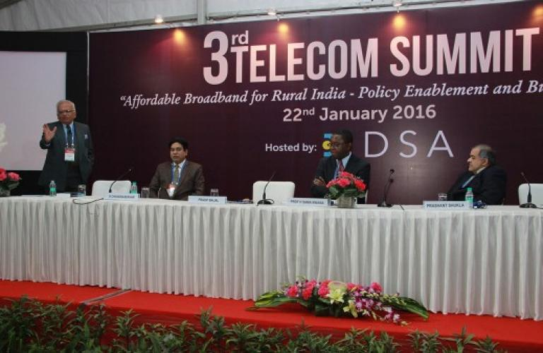 24th Convergence India 2016 expo deliberated on affordable broadband for rural India