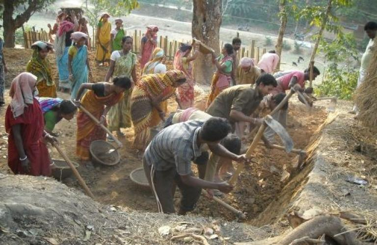 33 670 panchayats did not provide any job under MGNREGA