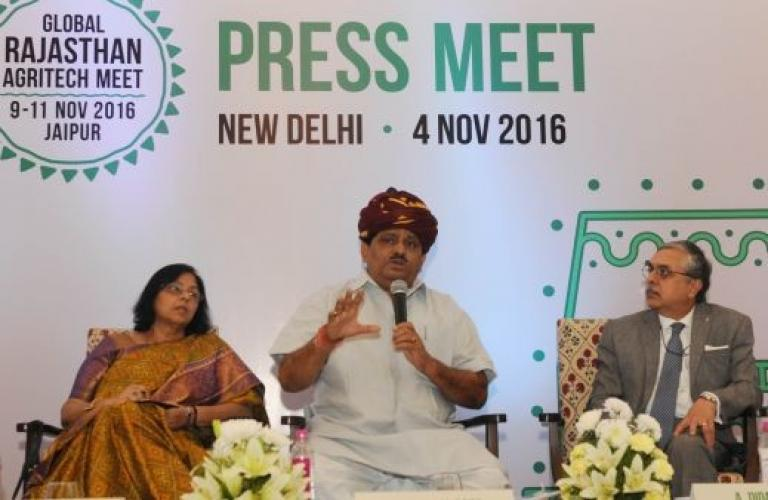 50 000 farmers to attend Global Rajasthan Agritech Meet