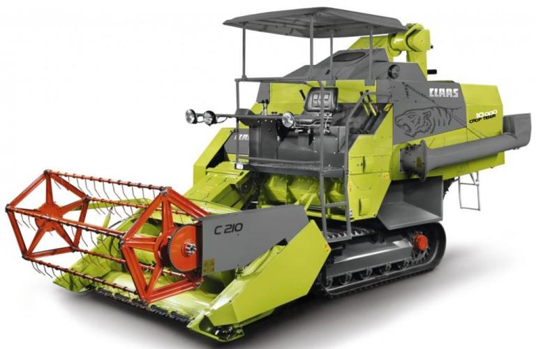 CLAAS marks making 10,000 CROP TIGER combine harvesters in India