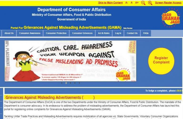 How Have Been the Complaints Against Misleading Advertisements?