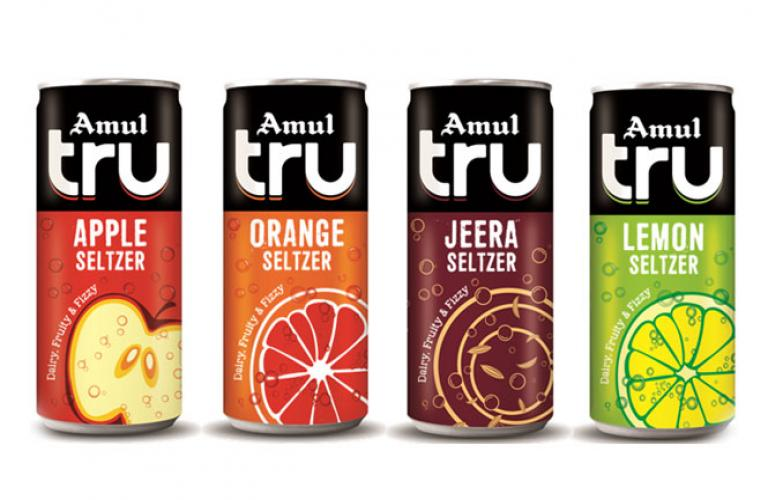 Amul launches India's first Seltzer, blended with dairy, fruits & fizz