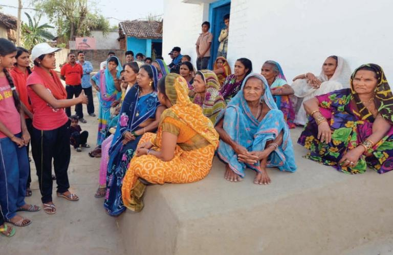 Know the numbers of women representatives in Gram Panchayats