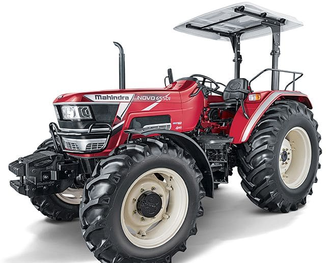How did Mahindra's tractor sales jumped in Jan 2021?