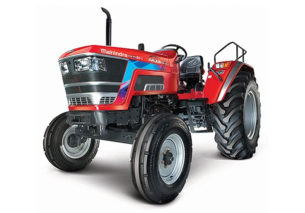 How have been the tractor sales of Mahindra in February 2021?
