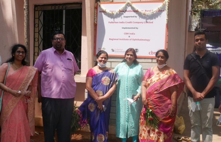 CBM, Fullerton India launch low-cost vision care centres for rural India