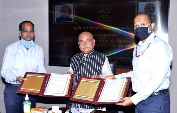 Centre collaborates with private players to digitise agriculture