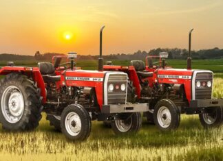 TAFE launches MF 244 puddling special tractors for AP farmers