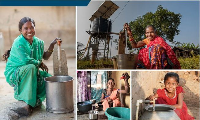 Tap water supply under Jal Jeevan Mission (JJM) reaches all households in 100,000 villages