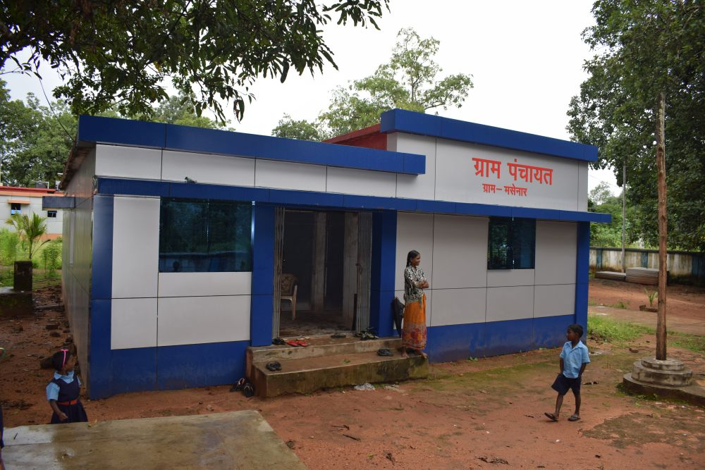 Centre releases Rs.13,385 Cr to Rural Local Bodies as grant-in-aid (Representational Image of Gram Panchayat building: Shutterstock)
